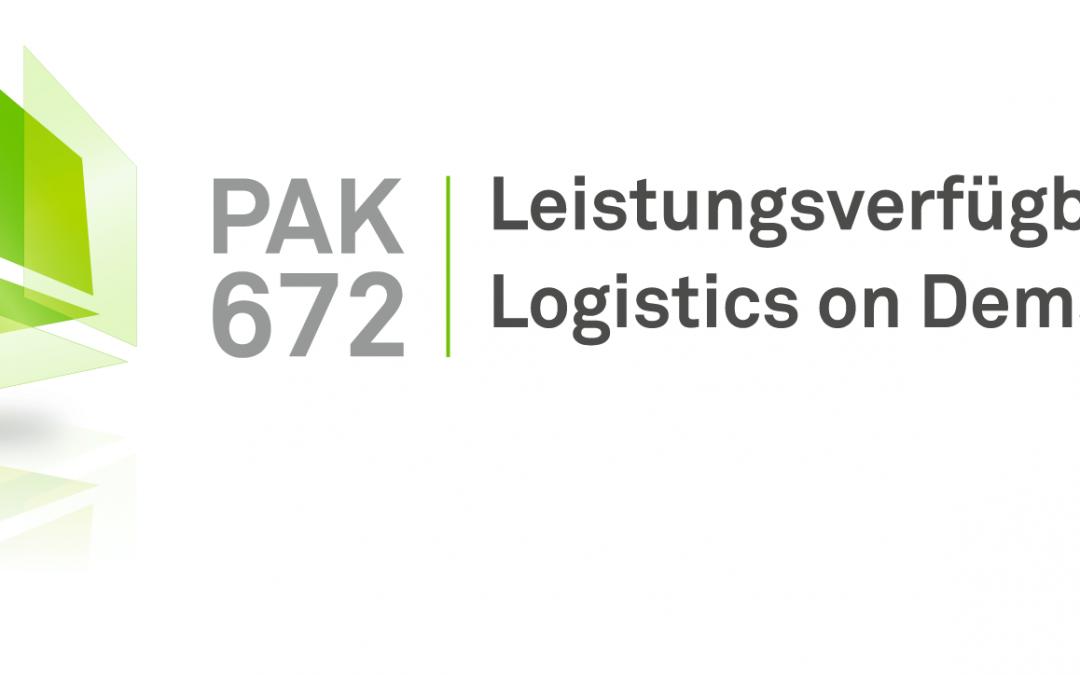 PAK 672 – – Leistungsverfügbarkeit – Logistics on Demand