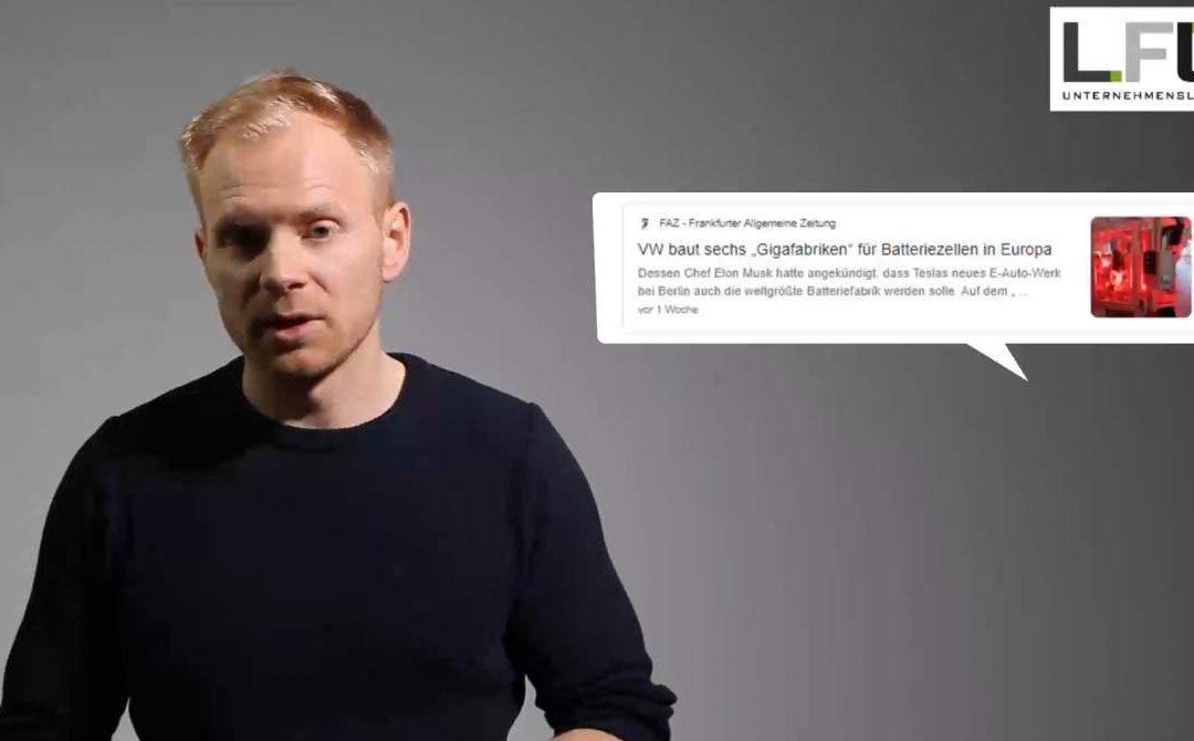 """Kurzvideo zur Vorlesung """"Fabrikplanung und -betrieb"""" im Sommersemester 2021"""