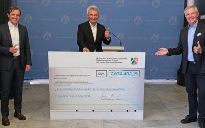 Land fördert Europäisches Blockchain-Institut mit 7,7 Millionen Euro